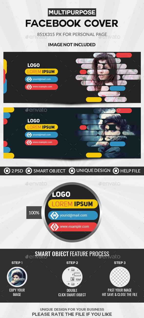 GraphicRiver Facebook Cover 20939665