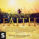 Race of Faith CD Album Artwork - GraphicRiver Item for Sale