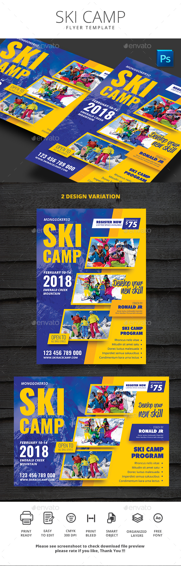 GraphicRiver Ski Camp 20939848