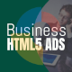 Business Animated HTML5 Banner GWD Ad Set