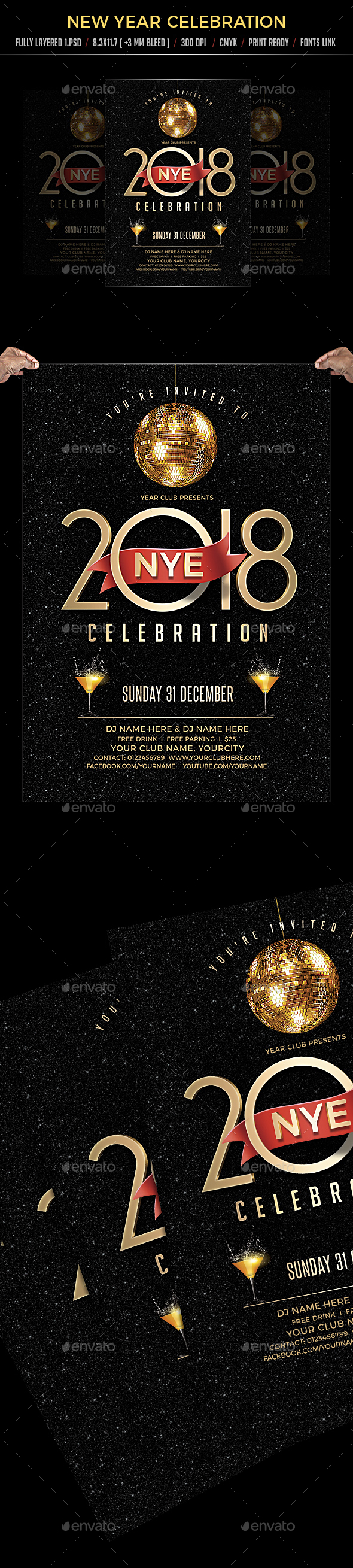 GraphicRiver New Year Celebration 20939885