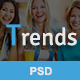 Trends - EMAIL PSD Template - GraphicRiver Item for Sale