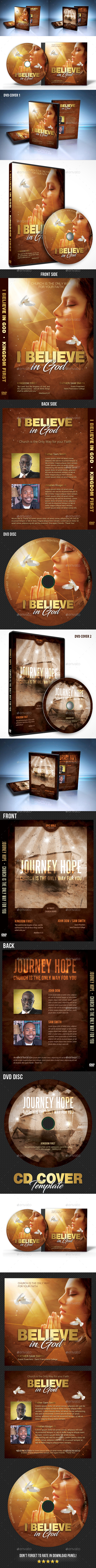 GraphicRiver Church CD DVD Covers Bundle 20939964