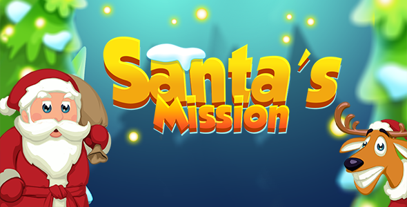 CodeCanyon Santa's Mission Match 3 HTML 5 Game 20940080