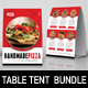 Restaurant Table Tent Bundle