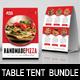 Restaurant Table Tent Bundle - GraphicRiver Item for Sale