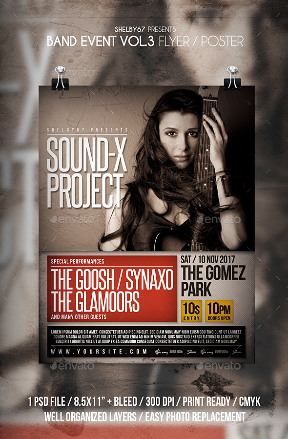 GraphicRiver Band Event Flyer Poster Vol 3 20940254