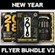 New Year Flyer Bundle V2 - GraphicRiver Item for Sale