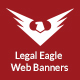 Legal Eagle: Criminal Defence Lawyer Web Banners - GraphicRiver Item for Sale