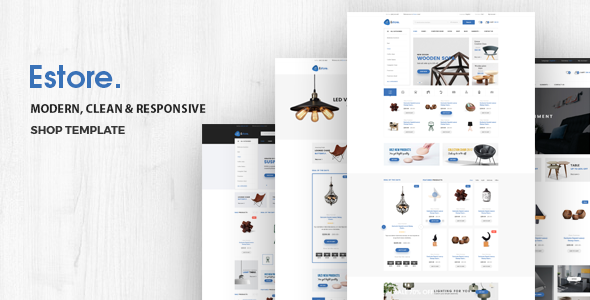 Estore - Multipurpose Responsive eCommerce Template - Shopping Retail