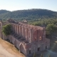 Drone Over San Galgano Church - VideoHive Item for Sale