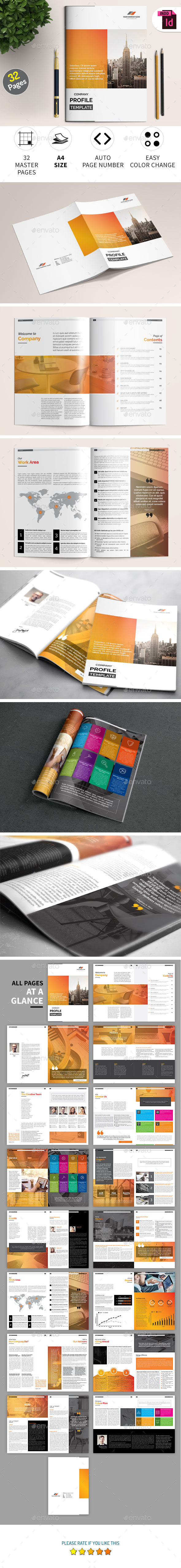 GraphicRiver Company Profile Template 20940769