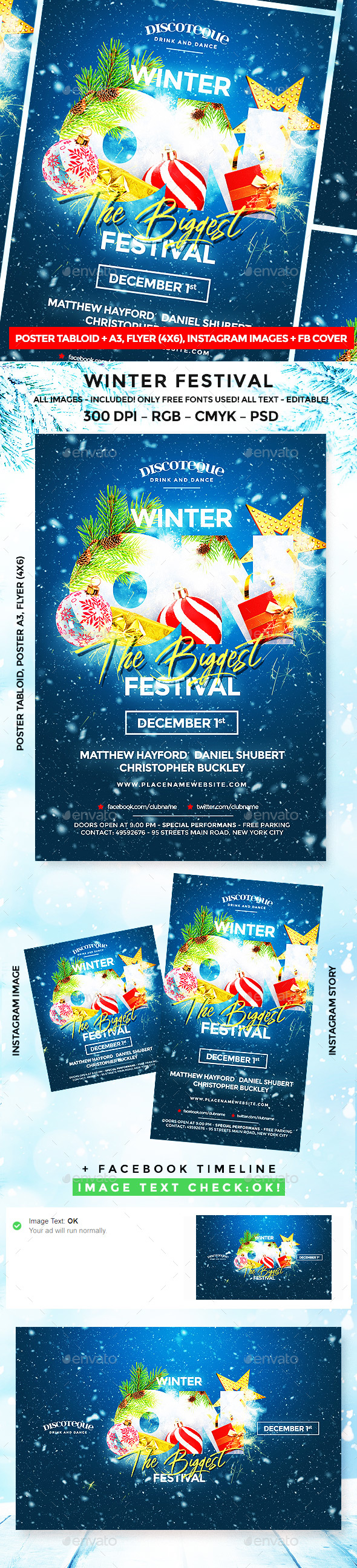 GraphicRiver Winter Festival 20940776