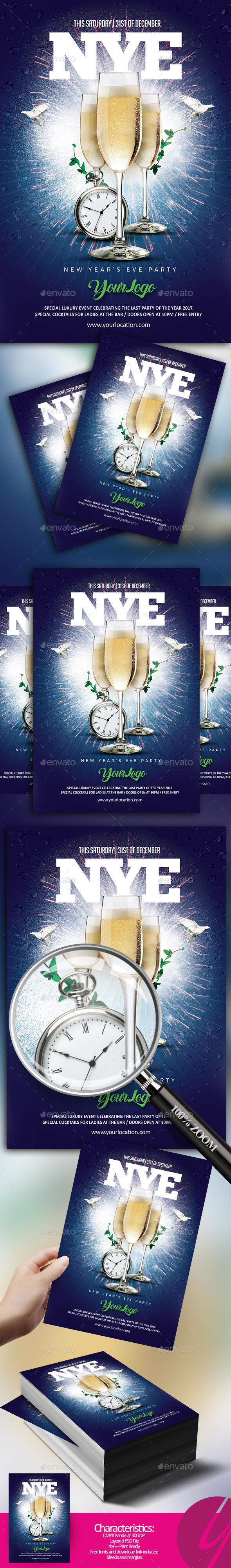 NYE Champagne Party - Clubs & Parties Events