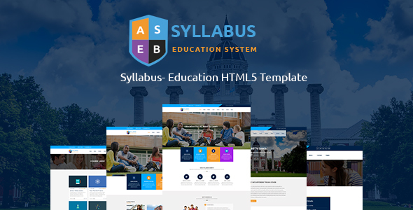 Download Syllabus - Education Responsive HTML5 Template            nulled nulled version