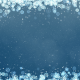 Blue New Year Snowflakes Frame - VideoHive Item for Sale
