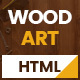 WoodArt - Carpenter HTML Template - ThemeForest Item for Sale