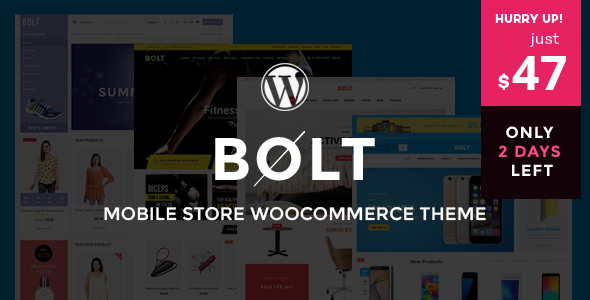 Bolt - Mobile Store WooCommerce WordPress Theme - WooCommerce eCommerce