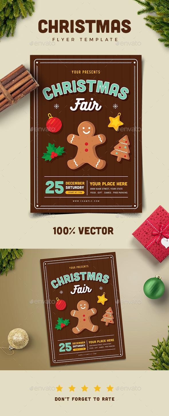 Christmas Fair Flyer - Holidays Events