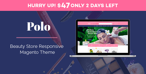Polo - Beauty Store Responsive Magento Theme - Shopping Magento