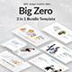 3 in 1 Big Zero Bundle Google Slide Template