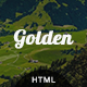 Golden - One Page Responsive Template - ThemeForest Item for Sale
