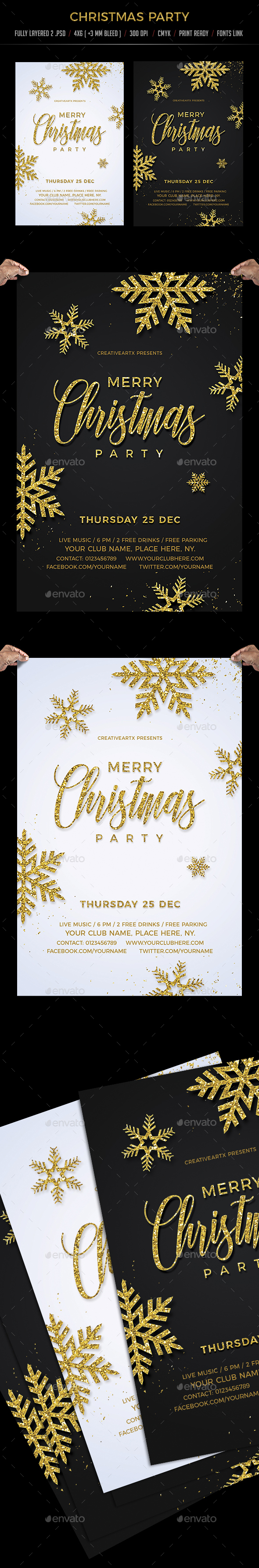 GraphicRiver Christmas Party 20941448