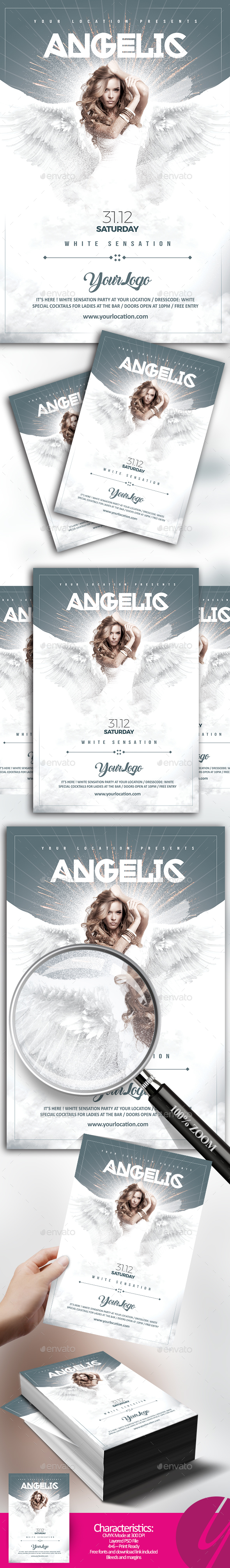 Angelic White Sensation - Clubs & Parties Events
