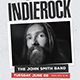 Indie Rock Event Flyer - GraphicRiver Item for Sale