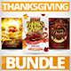 Thanksgiving Party Flyer Bundle