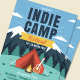 Indie Camp Flyer - GraphicRiver Item for Sale