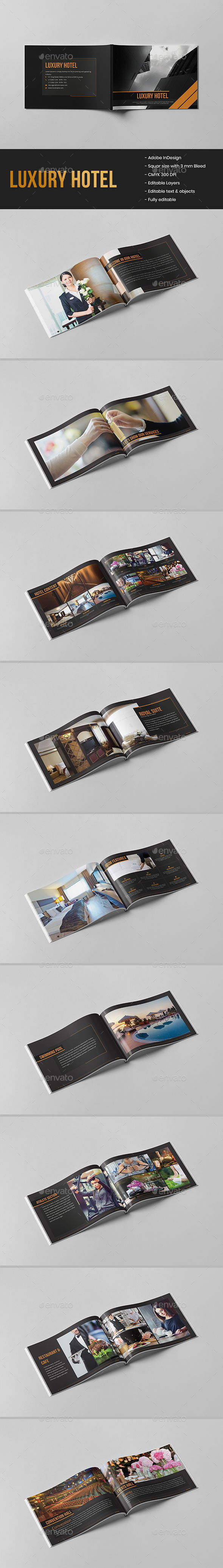 Luxury Hotel Brochure - Corporate Brochures