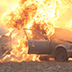 Car Explosion, Burning Car - VideoHive Item for Sale