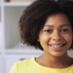 Happy African American Young Woman Face at Home 60 - VideoHive Item for Sale