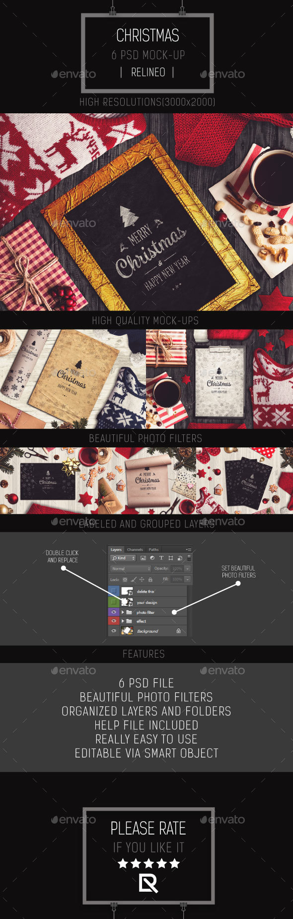 Christmas Mock-up Pack Vol.2 - Miscellaneous Product Mock-Ups