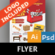 Carpenter Flyer - GraphicRiver Item for Sale