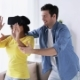 Happy Couple with Virtual Reality Headset at Home  - VideoHive Item for Sale
