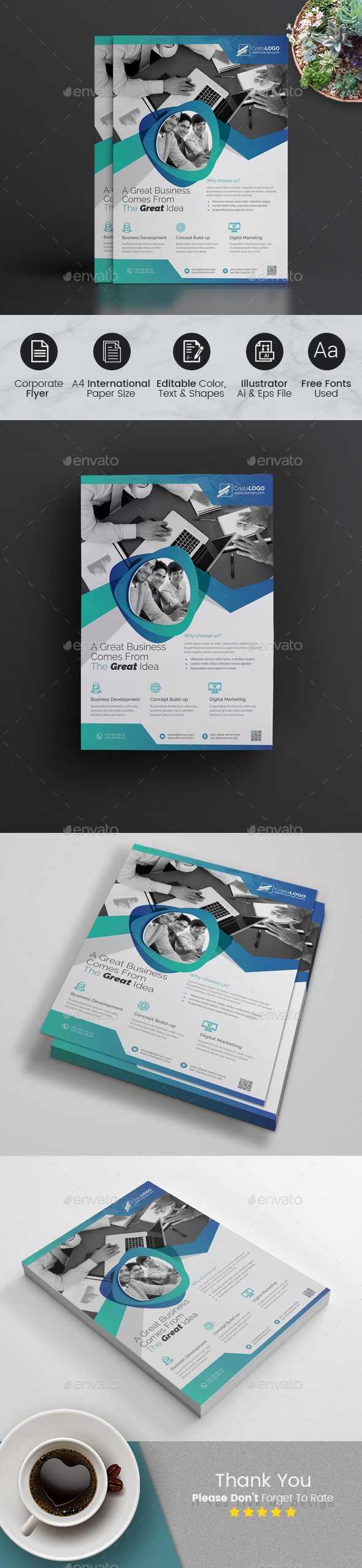 GraphicRiver Business Flyer 20942145