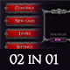 02 in 01 Fantasy Game UI Bundle