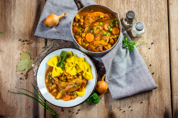 Homemade stew - Stock Photo - Images