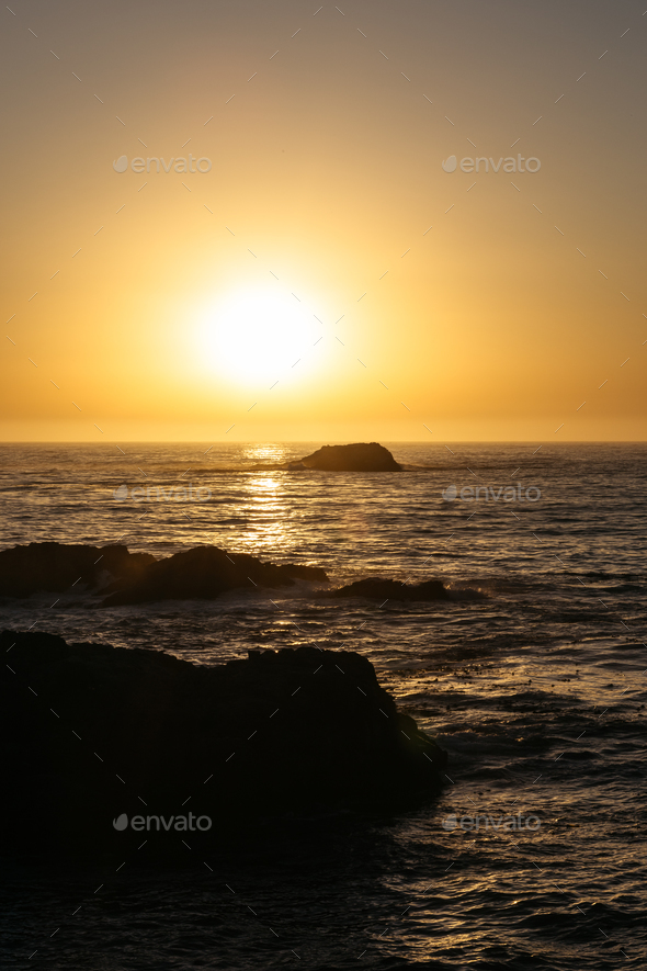 Sunset in California - Stock Photo - Images