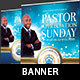 Community Pastor Appreciation Banner Template