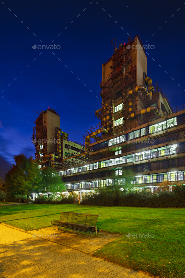 Aachen University Clinic Buildings, Germany - Stock Photo - Images