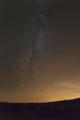 Milky Way And City Glow