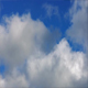 Clouds Moving Slowly On Blue Sky - VideoHive Item for Sale