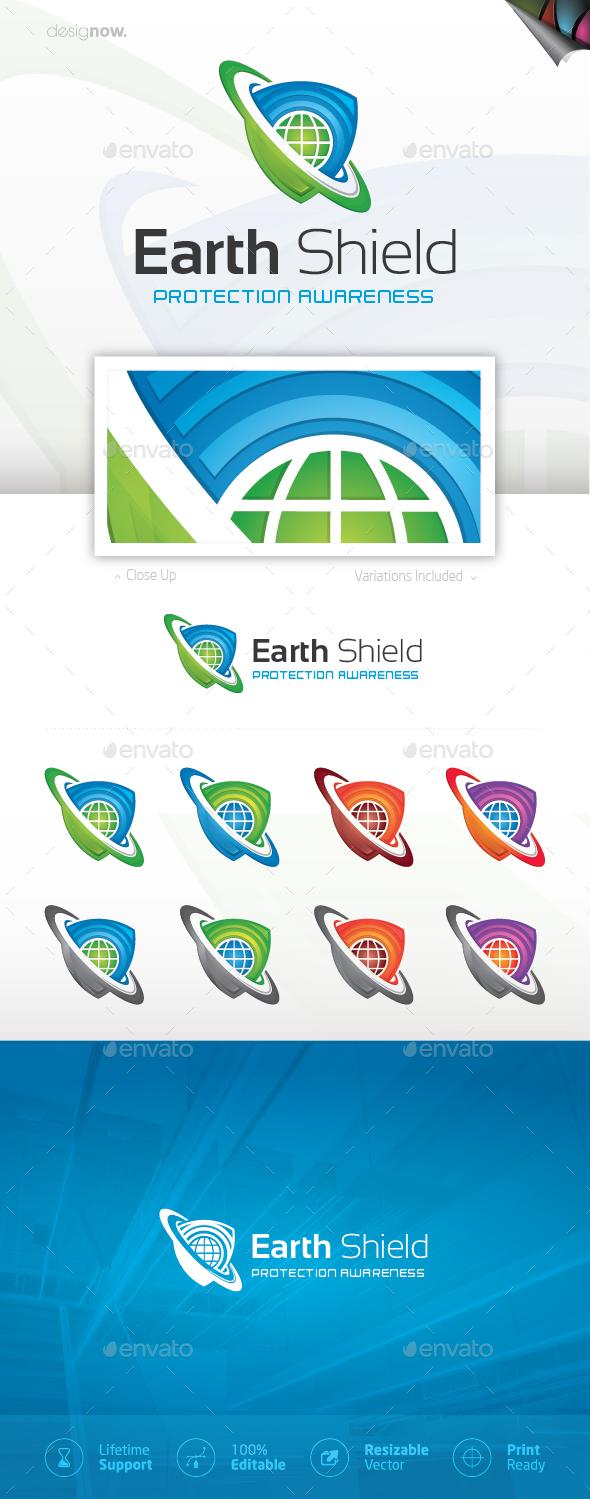 Earth Shield Logo - Company Logo Templates