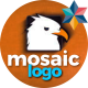 Fast Mosaic Logo - VideoHive Item for Sale