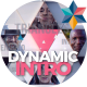 Dynamic Triangles Intro - VideoHive Item for Sale