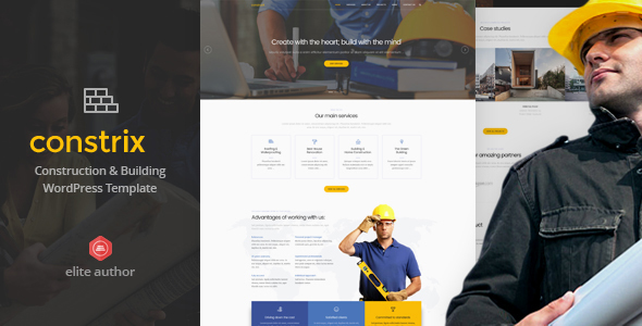 Constrix - Construction & Building WordPress Theme