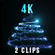 Particles Christmas Tree - VideoHive Item for Sale